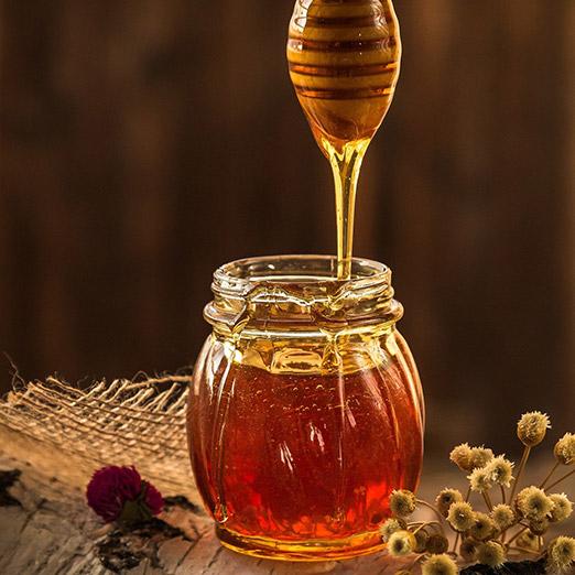 Honey in tea
