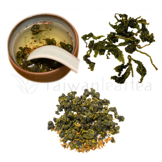 Fu Shou Shan Osmanthus Oolong / Heaven Pool Osmanthus Oolong (福壽山桂花烏龍)