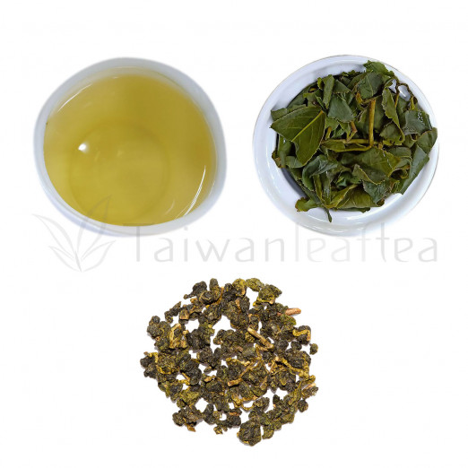 Full Aroma Organic Dayuling Oolong from Plantation 95K  (濃大禹嶺)