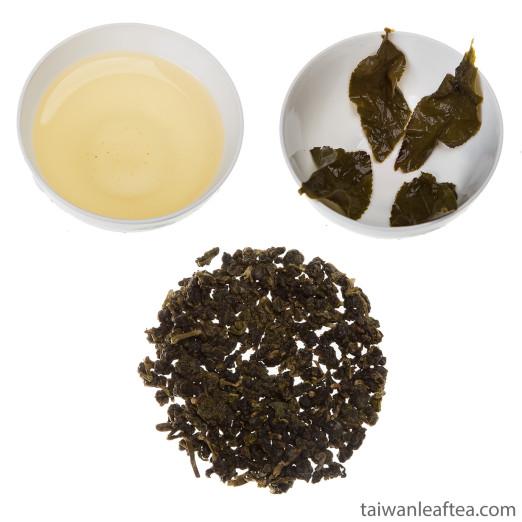 Высокогорный улун Ли Шань (Li Shan High Mountain Organic Oolong)