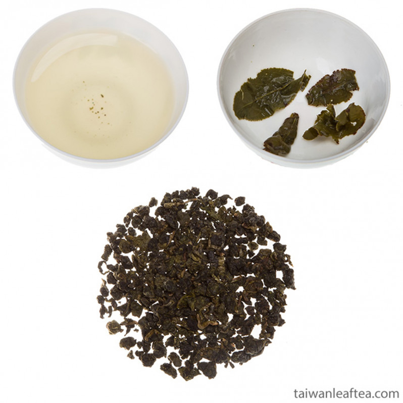 High Mountain Sun Link Sea Jin Xuan Milk Oolong (高山杉林溪金萱) Main Image