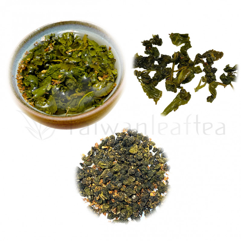 Osmanthus Jin Xuan Milk Oolong (桂花金萱) Main Image