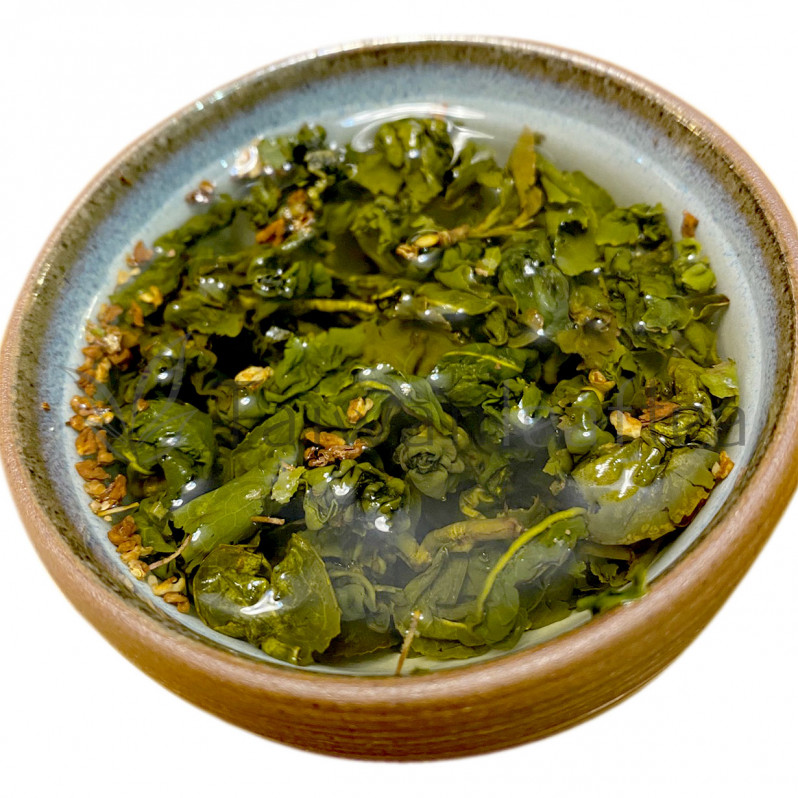 Osmanthus Jin Xuan Milk Oolong (桂花金萱) Image 1