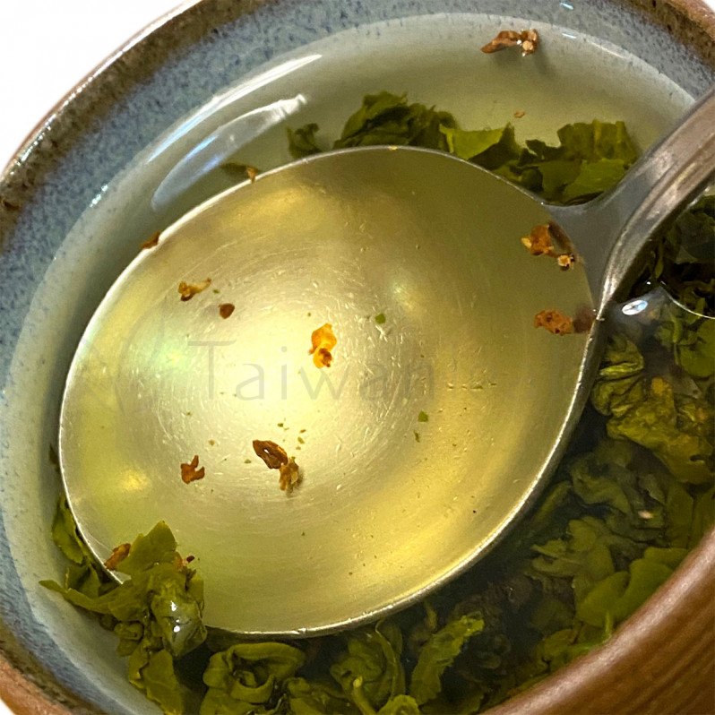 Osmanthus Jin Xuan Milk Oolong (桂花金萱) Image 2