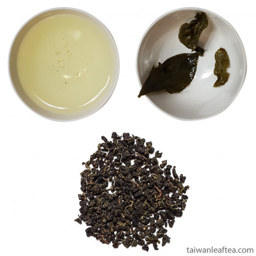 Premium GABA Oolong / Cui Yu / Tea #13 from Nantou (頂級翠玉)