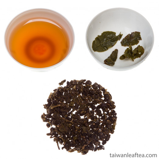 Red Oolong Tea / Hong wu long from Hsinchu (紅烏龍)