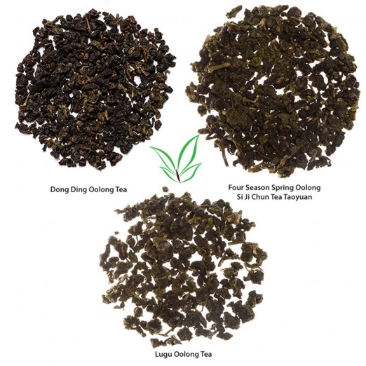 Selection of the Classic Oolongs (3 teas)