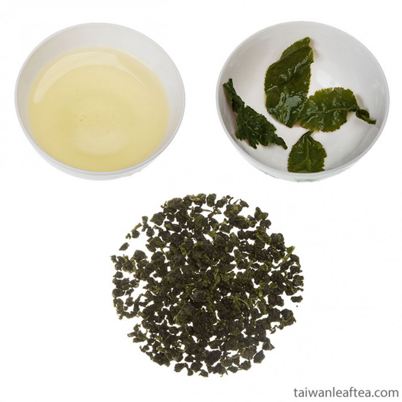 Spring Light Bake Oolong from Mingjian Township (南投民間鄉半熟烏龍茶)